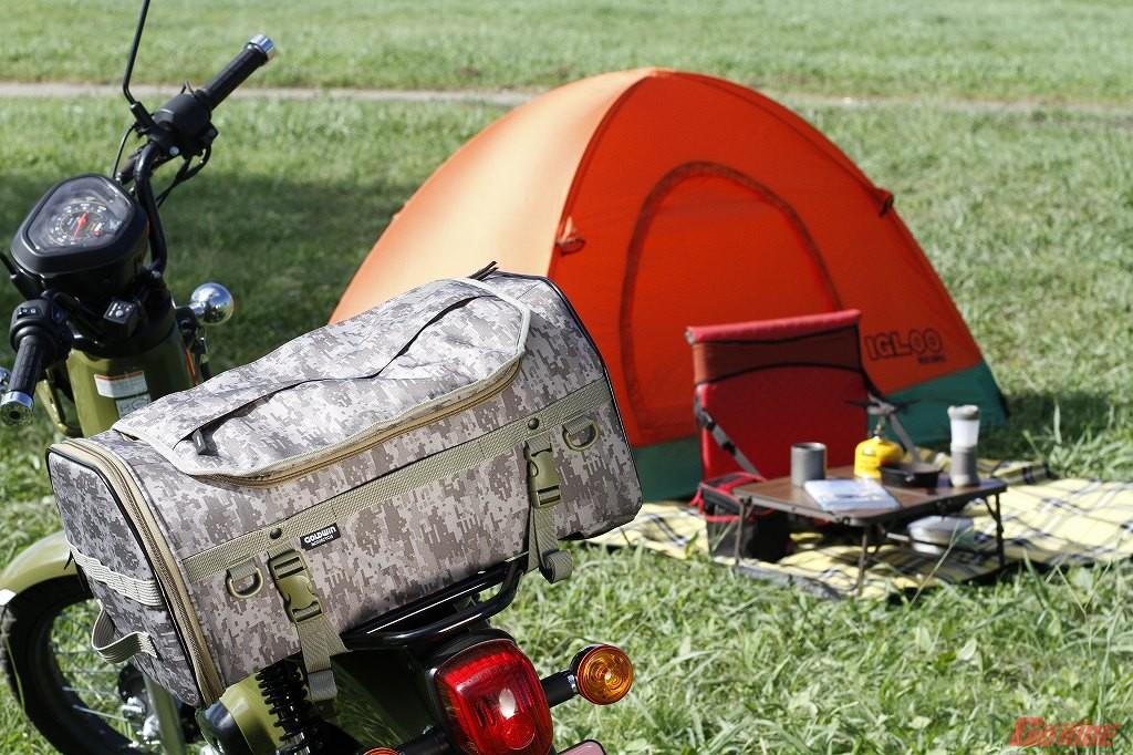 マルチユースでソロキャンプにも使えるボックスリュック『GWM X-OVER リアバッグ 35』がスゴイ