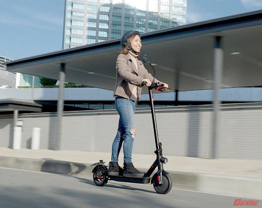 公道走行可能な電動キックボードとな!